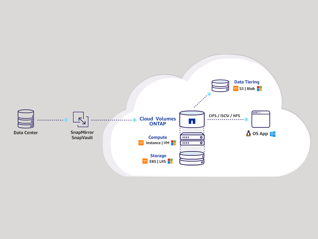 Cloud ONTAP for AWS
